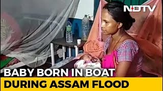 Assam Woman Delivers Baby On Boat During Floods, Names Him Krishna