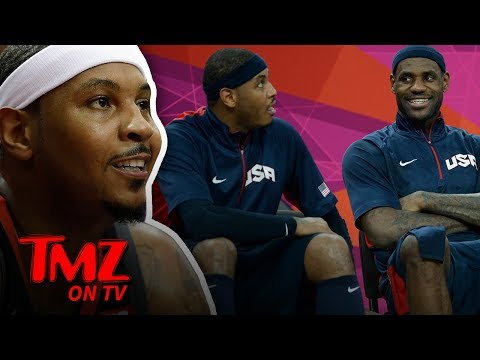 DJ Slab 1 - LeBron James Courting Melo To The Lakers?