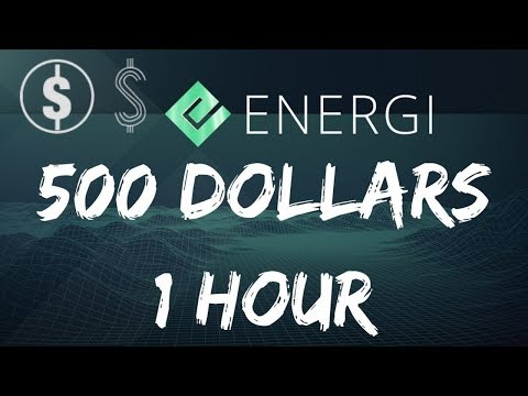 HOW I EASILY MADE $500 IN 1 HOUR WITH ENERGI (NRG) 💰💰💰
