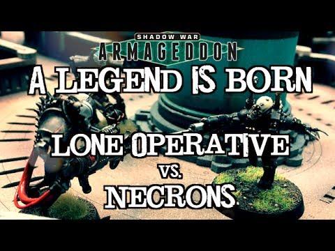 Shadow War: Armageddon Ep 04 - Necrons vs. The Lone Operative