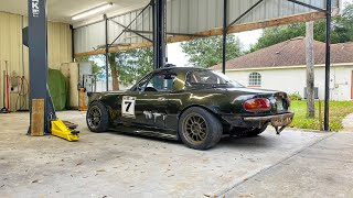 Fixing the weakest link on my LS3 Miata. (surprise damage)