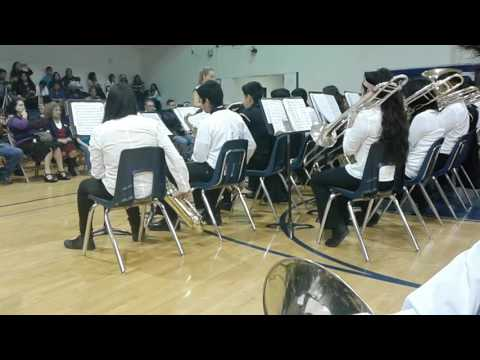 Stell middle school jazz band (part 1)