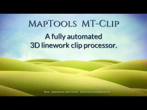 MapTools MT-Clip  An Automated 3D Linework Clip Processor