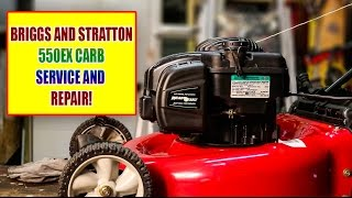 Lawn Mower Repair; Briggs and Stratton 550EX /500EX Lawn Mower Not Starting