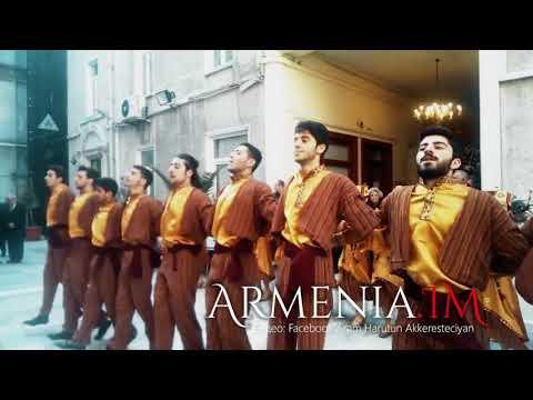 Армяне в Стамбуле отметили Рождество армянскими национальными танцами в таразах