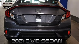 2021 Honda Civic Sedan Si - Premium Sedan Interior and Exterior Review and Driving