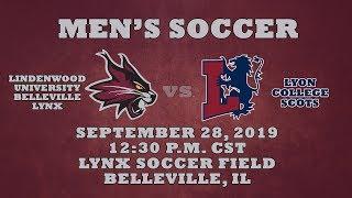 Men's Soccer: Lindenwood University - Belleville Lynx vs. Lyon College Scots
