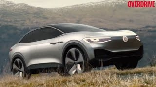VW I.D. Crozz from Auto Shanghai 2017 previews all-electric compact crossover