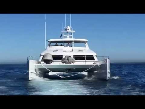A walk around the Open Ocean 750 Luxury Expedition Catamaran