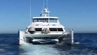 A walk around the Open Ocean 750 Luxury Expedition Catamaran