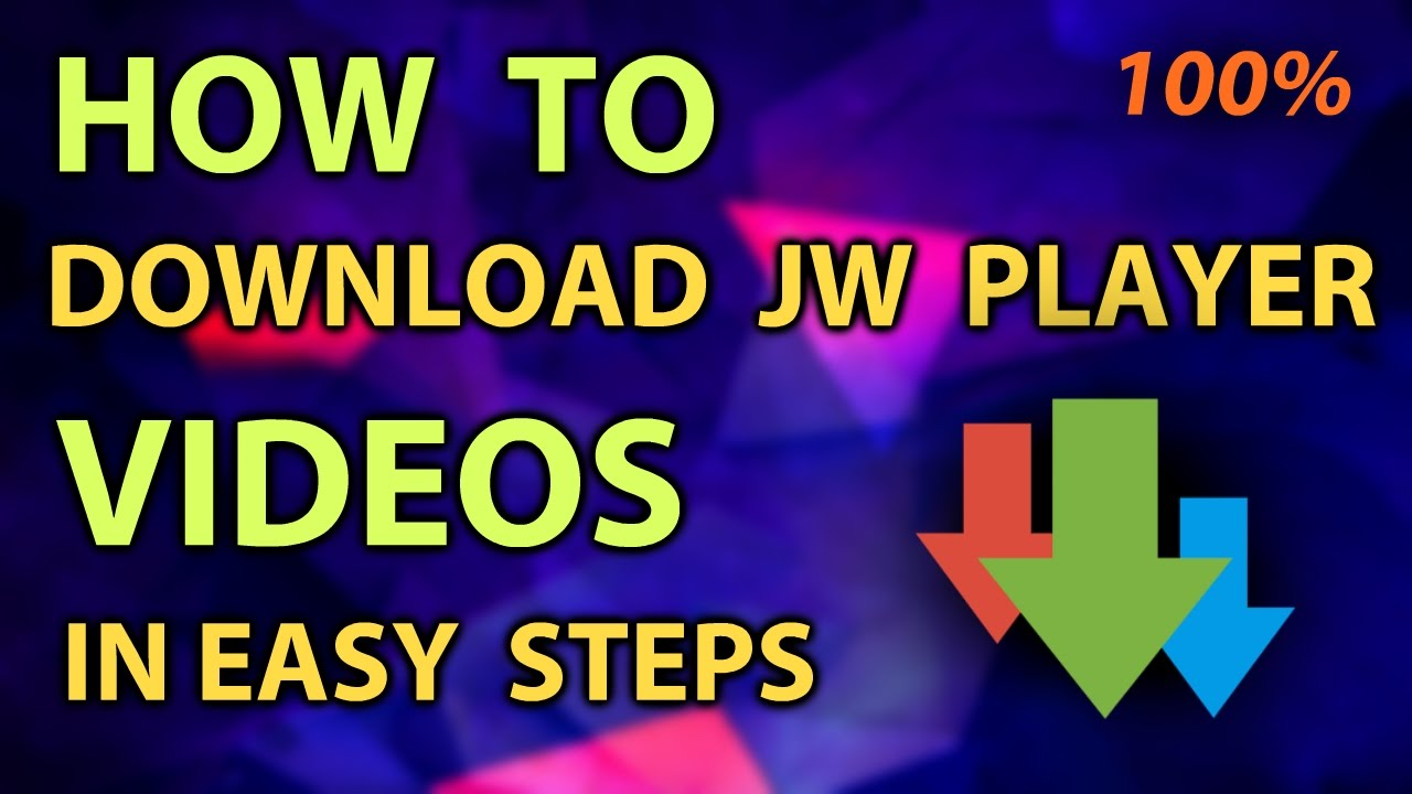 How to download online jw player videos which cannot be downloaded.