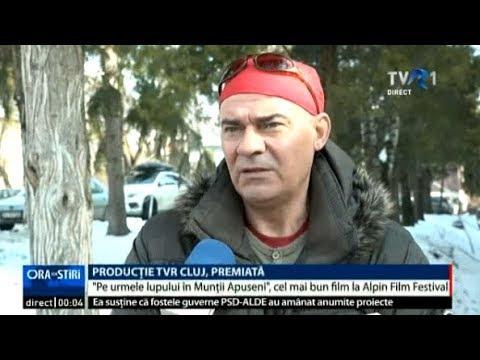Pe urmele lupului în Munții Apuseni, cel mai bun film românesc la Alpin Film Festival
