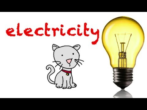 Electricity,  its sources, renewable and non renewable.Science for kids.