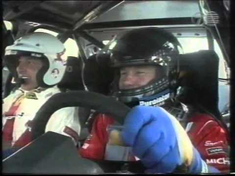 1998 AMP 1000 Brad Jones takes Peter Brock for a lap in the Audi A4