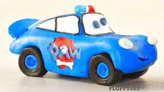 Lightning McQueen Play Doh Stop Motion