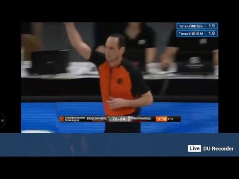 Euroleague Brose Bamberg vs Panathinaikos