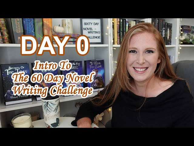 The 60 Day Novel Writing Challenge - Learn to get your ideas onto the paper, organize them into an outline, and finish drafting your book in 60 days.