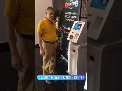 Withdraw BITCOIN Di ATM MESIN (Aqila - 0179740696)