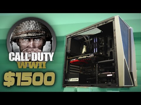 Build a MONSTER $1500 Call of Duty World War 2 GAMING PC
