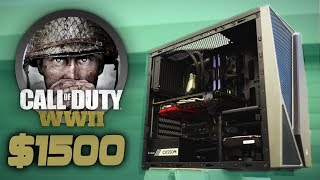 Build a MONSTER $1500 Call of Duty World War 2 GAMING PC thumbnail