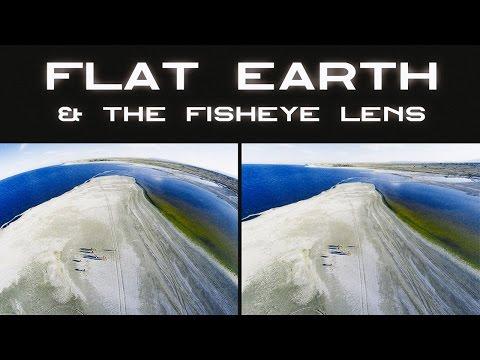 Flat Earth & the Fisheye Lens ▶️️