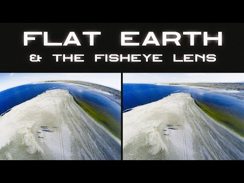 Flat Earth & the Fisheye Lens ▶️️ thumbnail