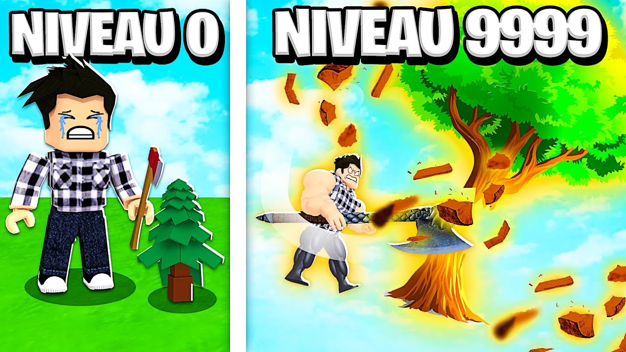 COUPER L'ARBRE LE PLUS GRAND dans Timber ! - Roblox