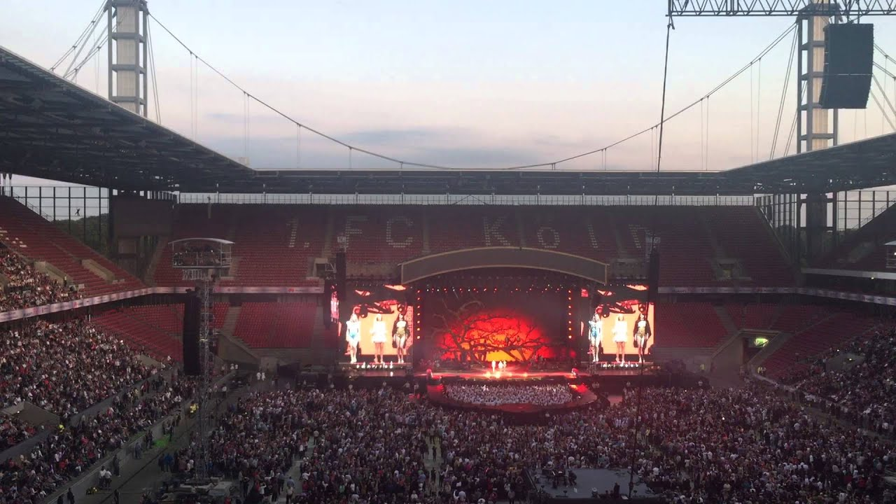 Rhein Energie Stadion Konzert