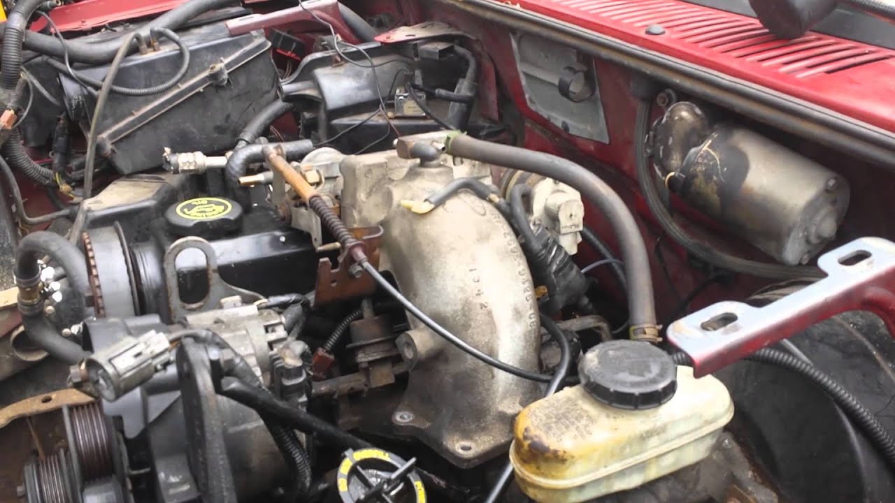 Pulling The 1988 Ranger 2 3 Ford Engine Part 4