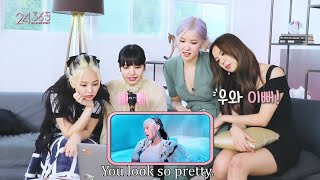 BLACKPINK Reaction to 'How You Like That' M/V English Subwidth=