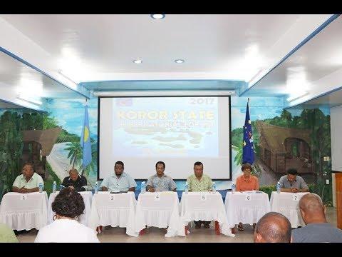 Koror State Gubernatorial Candidates' Forum