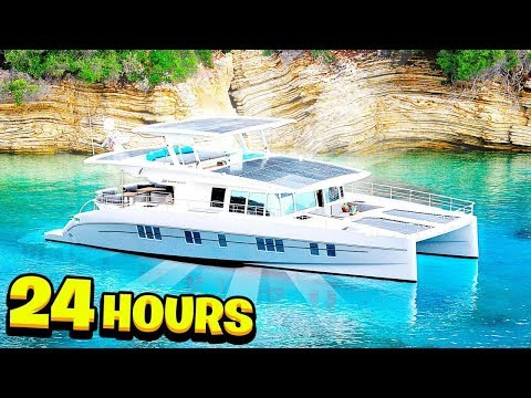 I Spent 24 Hours on a $1,492,923 Yacht!