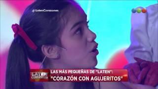 """Las más pequeñas de Laten cantan """"Corazón con agujeritos"""" - Laten Corazones"""