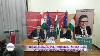 Helyi ellenzéki politikusok is támogatják a Fidesz győri polgármester jelöltjét