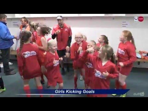 Girls Kicking Goals @ Blundstone Arena