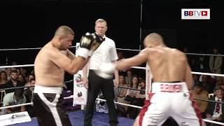 LYNDON 'KING' ARTHUR vs ISTVAN ORSOS - BBTV - Black Flash promotions 29-7-17