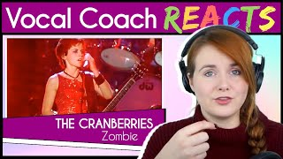 Vocal Coach reacts to The Cranberries - Zombie (Dolores O'Riordan 1999 Live)