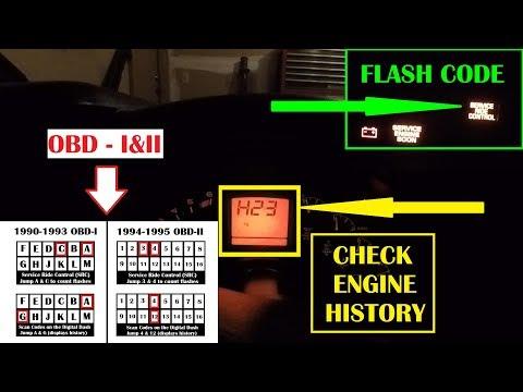 90-95 C4 Corvette Code Reading for Dummies