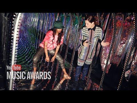 Making the 2013 YouTube Music Awards