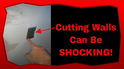 How To Avoid Electrical Shock Hazards When Cutting Into Walls