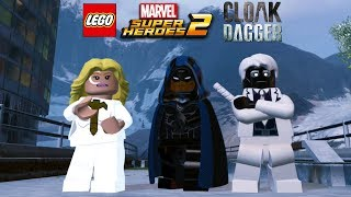 LEGO Marvel Super Heroes 2 All Cloak and Dagger Character Pack Characters Unlocked