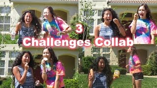 3 Challenges Collab || Ysabella Romasanta||