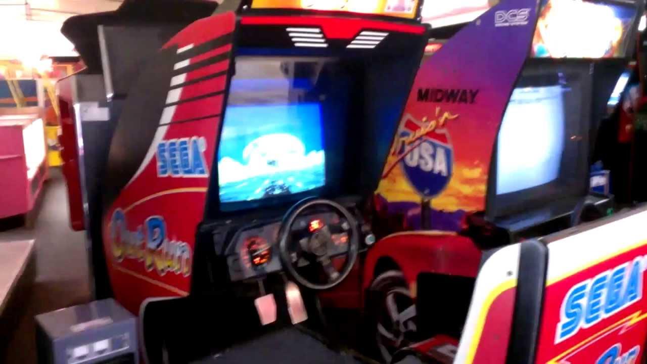 Sega Outrun Arcade Machine - YouTube