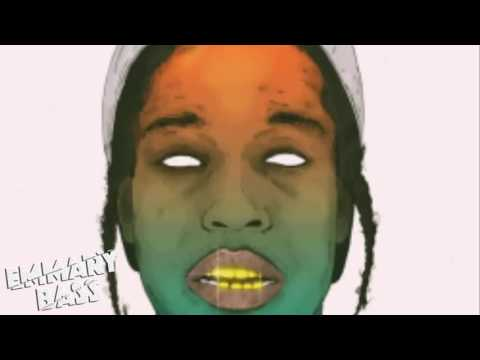 A$AP Mob ft A$AP Rocky-  Crazy Brazy (Bass Boosted)