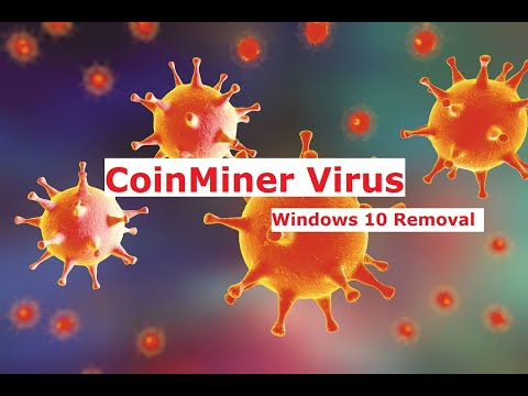 How To Remove Coin Miner/icloudnet/fake Csrss Virus From Windows 10
