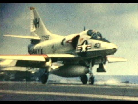 USS Kitty Hawk (CVA-63) 1966-67 Vietnam War Home Movies