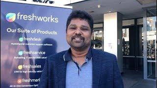 Girish Mathrubootham shares Freshworks story