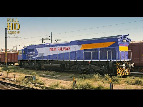 INDIAN RAILWAYS : Most Powerful Diesel & Electric Locomotives Lined Up Together