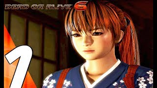 DEAD OR ALIVE 6 - Gameplay Walkthrough Part 1 - Prologue (Story Mode) Full Game