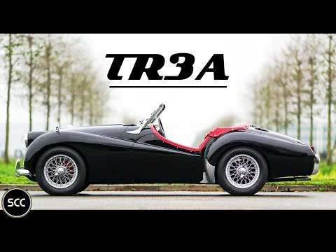 TRIUMPH TR3 A 1960 - Test drive in top gear - Engine sound | SCC TV